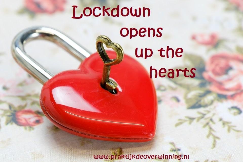 Lockdown opent harten